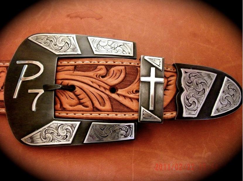 Handmade buckle